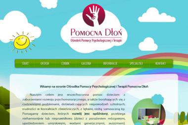 POMOCNA DŁOŃ - Ośrodek Pomocy Psychologicznej i Terapii - Psycholog Łuków