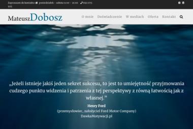 Psychoterapeuta Mateusz Dobosz - Psycholog Rzeszów