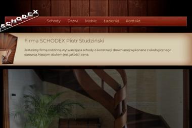 SCHODEX - Balustrady drewniane Cierpice