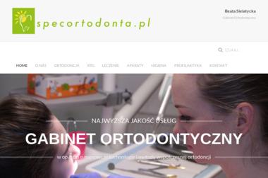 Gabinet Ortodontyczny BEATA SIELATYCKA - Ortodonta Toruń