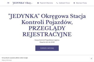"""""""JEDYNKA"""" Okręgowa Stacja Kontroli Pojazdów - Przeglądy i diagnostyka pojazdów Legnica"""