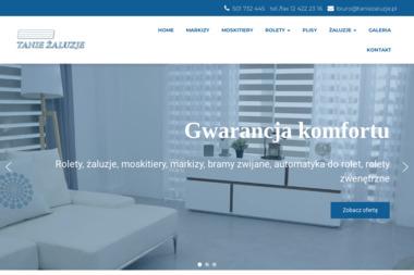 F. H. U. Tanie Żaluzje - Żaluzje, moskitiery Kraków