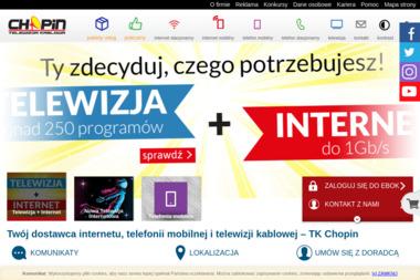 Chopin Telewizja Kablowa - Telefony stacjonarne Wejherowo