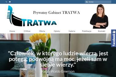 """Prywatny Gabinet Psychoterapii """"Tratwa"""" - Terapeuta Uzależnień Łódź"""