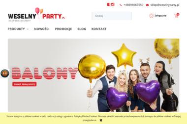 SKLEP WESELNY & PARTY - Balony z helem Kraków