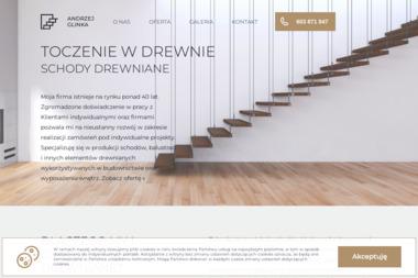 Schody Andrzej Glinka - Balustrady drewniane Warszawa