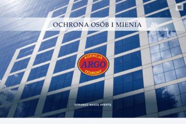 ARGO - Agencja Ochrony Osób i Mienia - Agencja ochrony Łódź