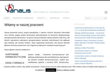 ARIALIS Pracownia Informatyczna s.c. Paweł Sołtysiak, Bartosz Czumer - Analiza i projektowanie systemów IT Warszawa