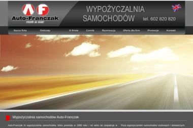 Auto-Franczak - Wypożyczalnia samochodów Włocławek