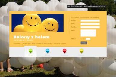 Balony z helem - Balony z helem Kraków