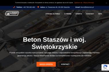 Przedsiębiorstwo drogowe BETOMEX - Maszyny Budowlane Używane Staszów