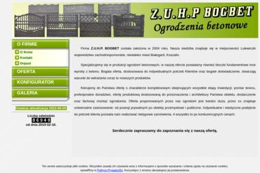 Z.U.H.P. BOGBET - Ogrodzenia Białogard