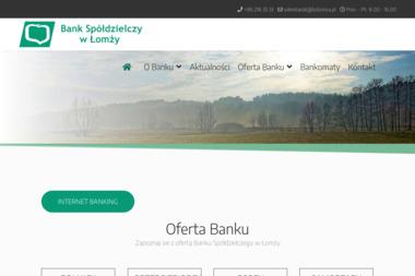 Bank Spółdzielczy w Łomży - Kredyt hipoteczny Łomża