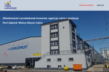 Cargofruit - Przeładunki towarów Gdańsk