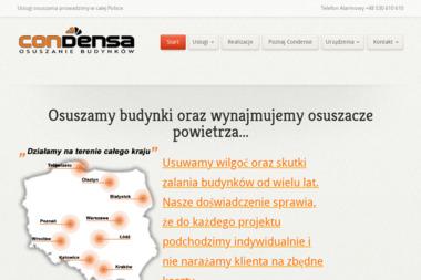 Condensa - Osuszanie Białystok