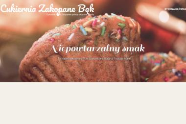 Bogusława i Kazimierz Bąk Wypiek i Sprzedaż Ciast Cukiernia Bąk - Gastronomia Zakopane