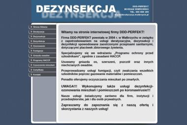 PHU DDD-PERFEKT - Dezynsekcja i deratyzacja Wałbrzych