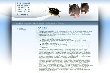 AUTORYZOWANY ZAK艁AD D.D.D. 艢RODKAMI EKOLOGICZNYMI LUB CHEMICZNYMI - Dezynsekcja i deratyzacja Opole