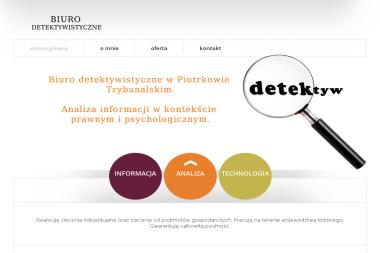 RG-CERTUM - Biuro Detektywistyczne Ryszard Gąciarek - Obsługa Prawna Piotrków Trybunalski