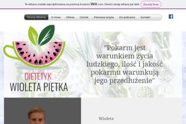 Dietetyk Wioleta Piętka - Dietetyk Wolsztyn