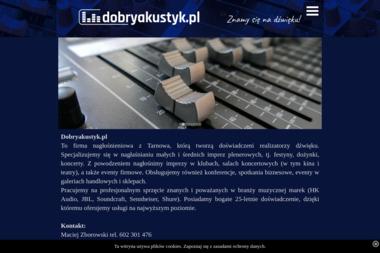 A-live - Wynajem Nagłośnienia Tarnów