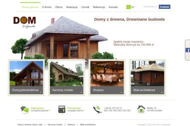 Dom Zrajkowski - Domy z bali Gródek