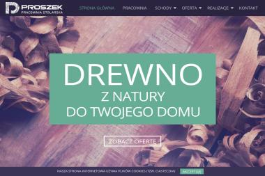 PROSZEK Pracownia Stolarska - Balustrady Balkonowe Krzyszkowice