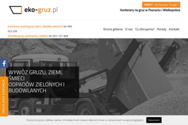 Siedziba firmy - Wywóz Gruzu Poznań