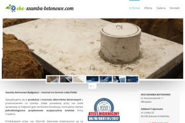 EKO-SZAMBA-BETONOWE - Prefabrykaty Betonowe Nekla
