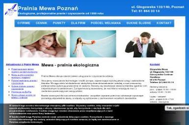 Ekopralnia Mewa - Pranie i prasowanie Poznań