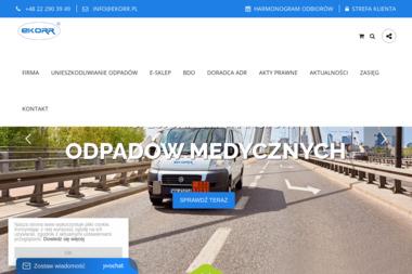 EKORR - Przetwarzanie odpadów Warszawa