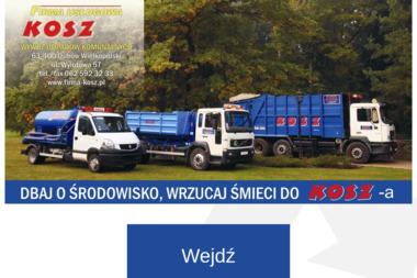 Firma Usługowa KOSZ - Wywóz Gruzu Ostrów Wielkopolski