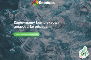 GEMINUS - Przetwarzanie odpadów Warszawa