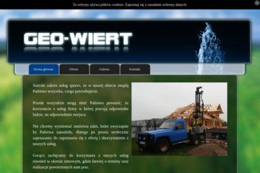 GEO-WIERT - Wiercenie Studni Głębinowej Bolesławiec