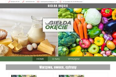 Giełda Okęcie - Warzywa Warszawa