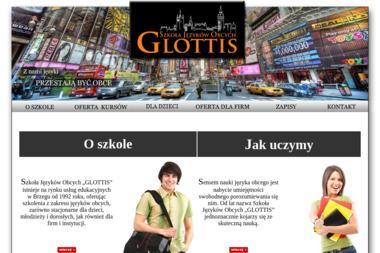 """Szkoła Języków Obcych """"GLOTTIS"""" - Szkoła językowa Brzeg"""