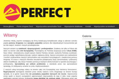 Wypożyczalnia samochodów PERFECT - Wypożyczalnia samochodów Toruń