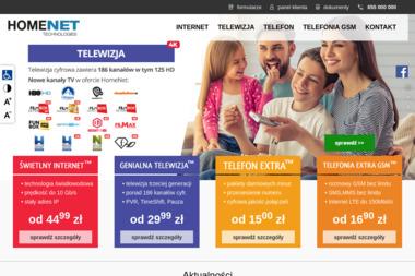 HomeNet Technologies - Internet Białystok