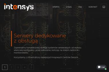 INTENSYS Spółka z o.o. - Strony internetowe Chojnice