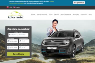 Kolor Auto - Wypożyczalnia samochodów Głogów