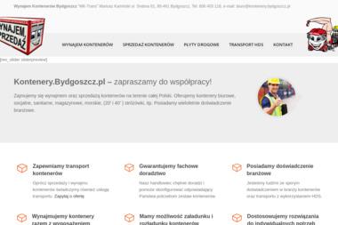 MK-TRANS - Płyty drogowe Bydgoszcz