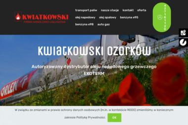 Firma Handlowo-Usługowa KWIATKOWSKI - Opał Ozorków