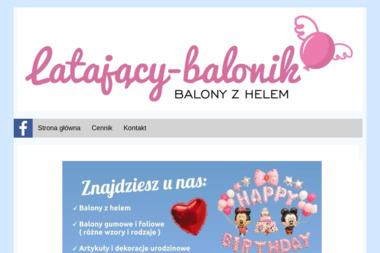 Latający Balonik - Balony Urodzinowe Świdnik