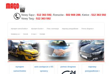 FUHM MAGO - Wypożyczalnia samochodów Nowy Sącz