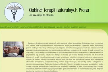 Gabinet terapii naturalnych Prana - Medycyna naturalna LUBIN