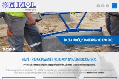 Przedsiębiorstwo Produkcyjno Usługowe MIMAL - Zagęszczarki nowe Lębork