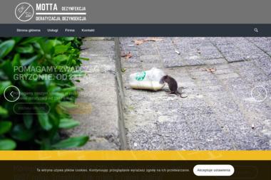 Motta - Us艂ugi DDD - Dezynsekcja i deratyzacja Opole