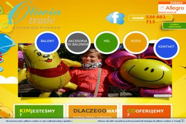 Oliwia Trade - Balony z helem Dąbrowa Górnicza