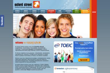 OXFORD STREET - Szkoła językowa Zielona Góra