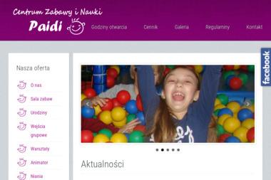 Centrum Zabawy i Nauki PAIDI - Animatorzy dla dzieci Pleszew
